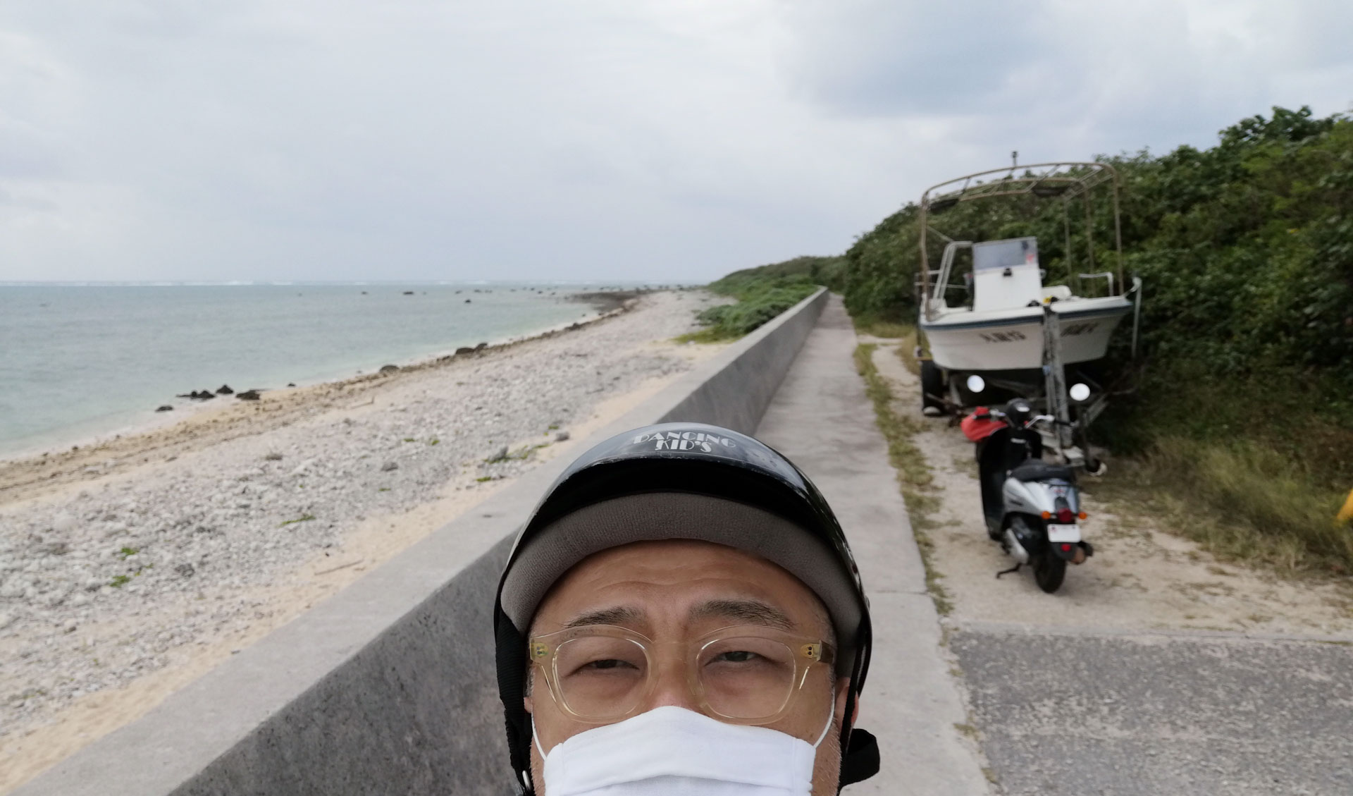 観光オフシーズンの12月の石垣島